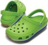 C R O C S Crocs Retro Clog Kids volt green