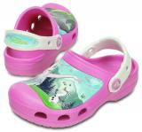 Crocs CC FrozenFever clog party pink-oyster