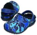 Crocs Classic Lined Graphic Clog K blue