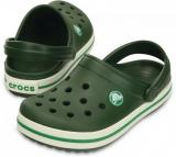 C R O C S Crocs Crocband Kids Forest Green
